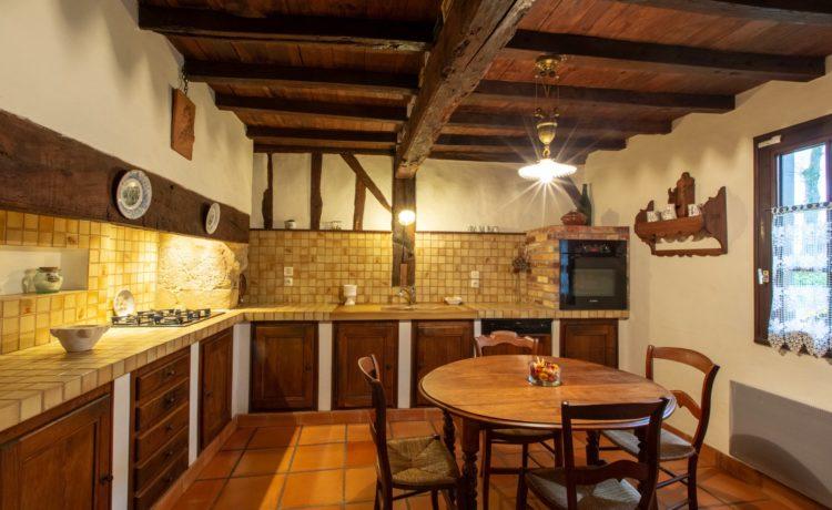 Maison typique Landaise
