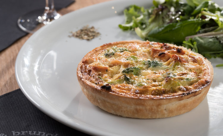 Quiche Saumon - brocolis